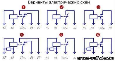Реле 901.3747-рк схема